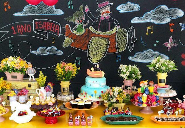 A festa Mundo de Bita will cheer up meninos and meninas. (Photo: Divulgação)