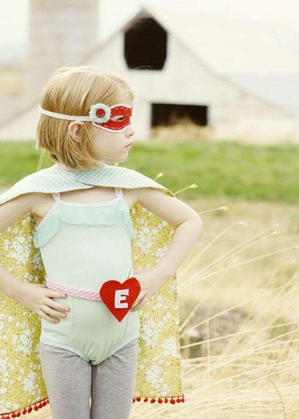 decorate supergirl children's birthday