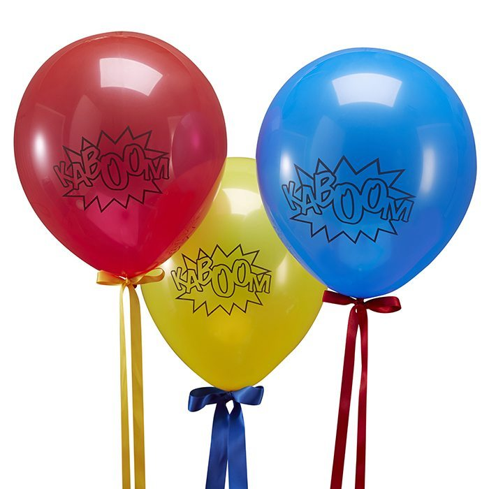original birthday parties balloons