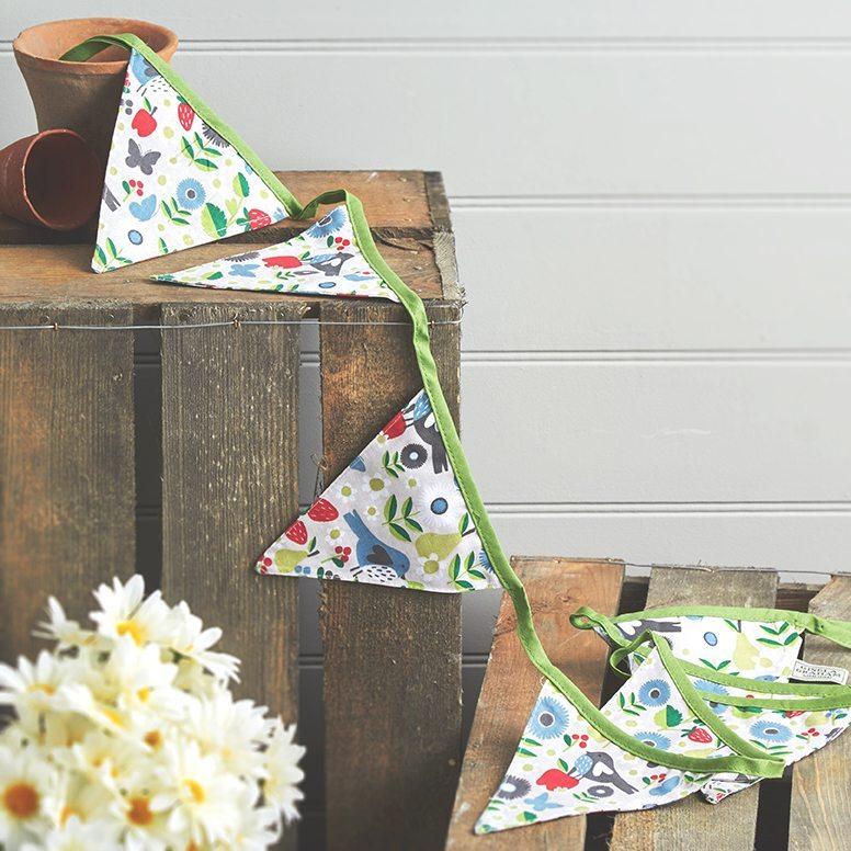 original birthday parties garland pennants cloth