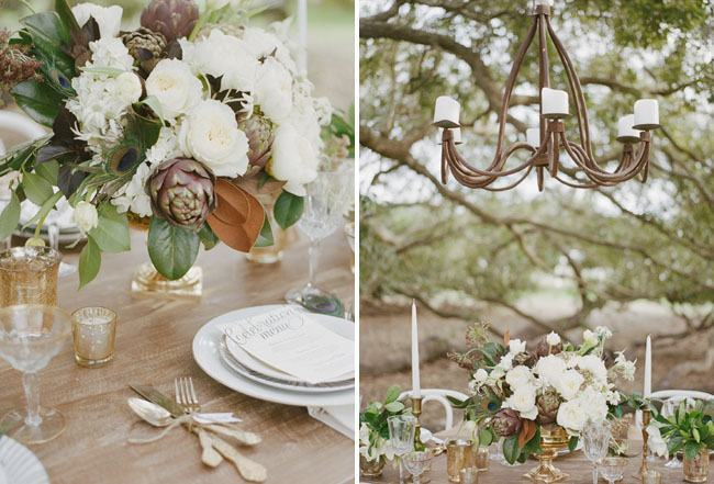 Engagement party decoration with rustic style.