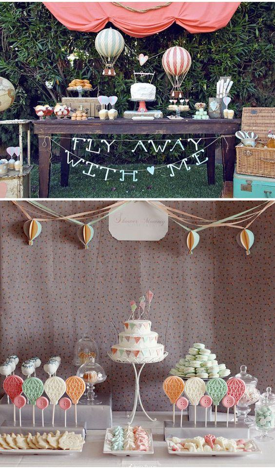 Theme-inspired engagement decoration