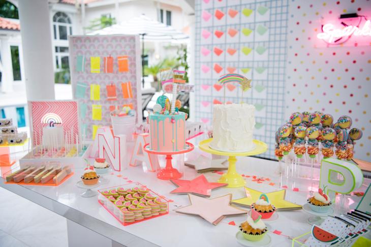 Neon Pastel Party