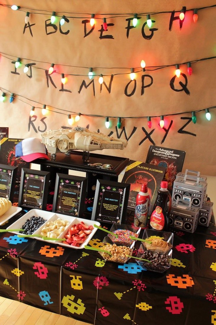 Stranger Things Themed Party