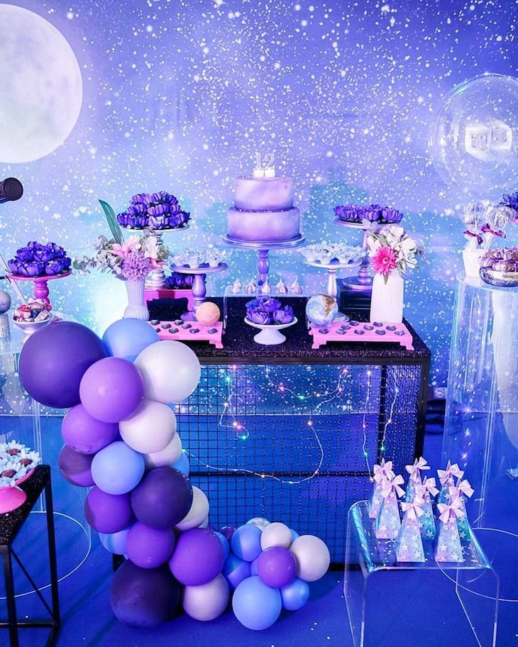 Galaxy Themed Party