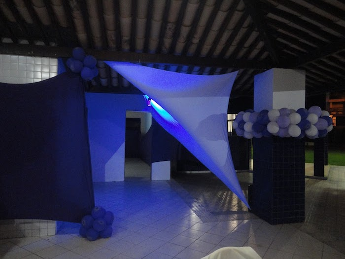 ensionadas with light effects