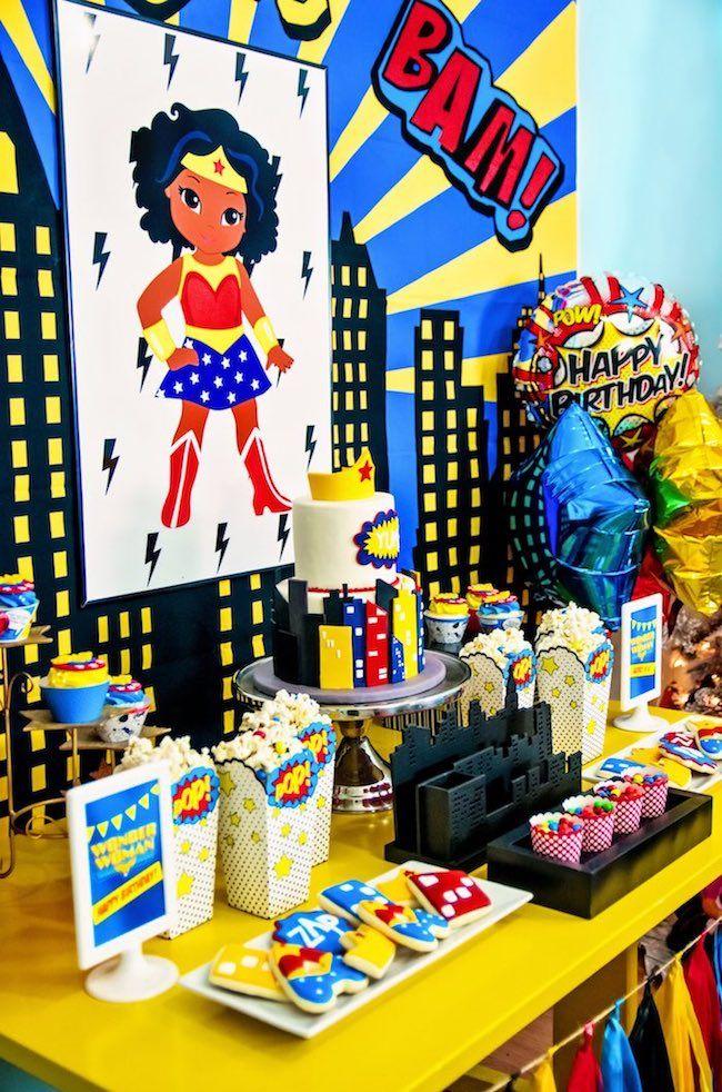 Wonder Woman Children's Party