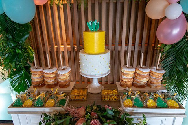 Pineapple themed kids party