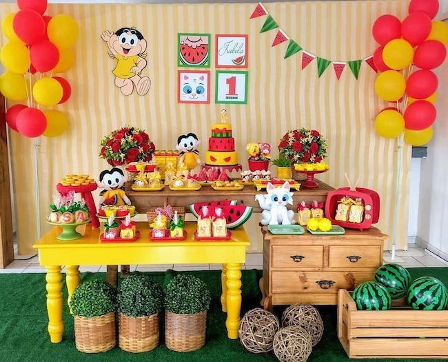 Magali children's party