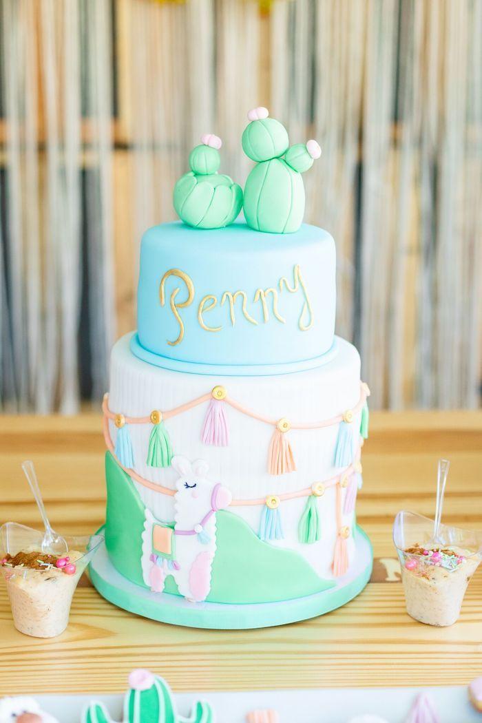 Llama themed party