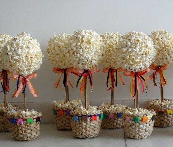 Popcorn tree.