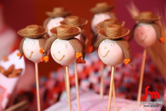 June party cake-pop