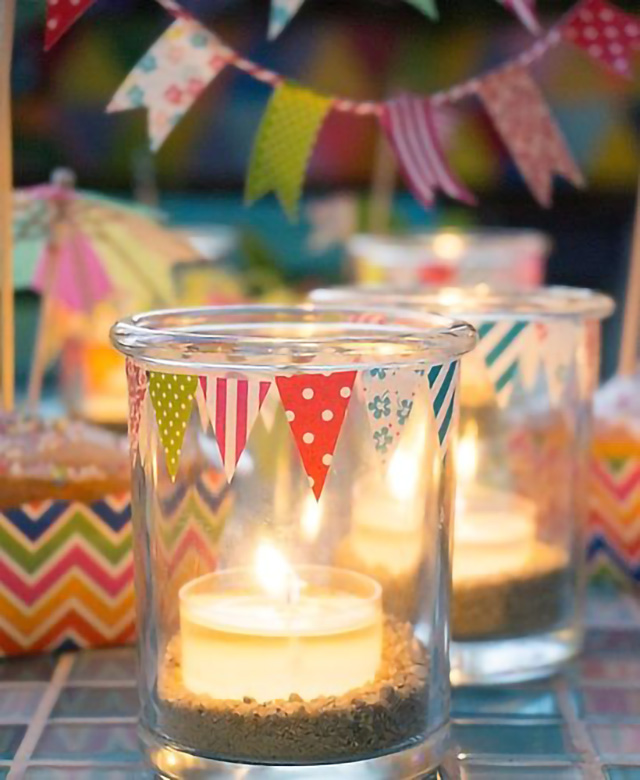 June party candle
