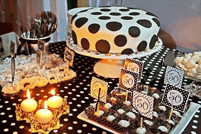 Choose a retro theme to pack the party.