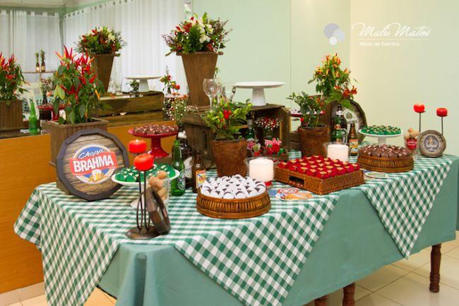 Boteco themed birthday party.