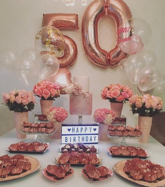 Wonderful inspiration for a pink party