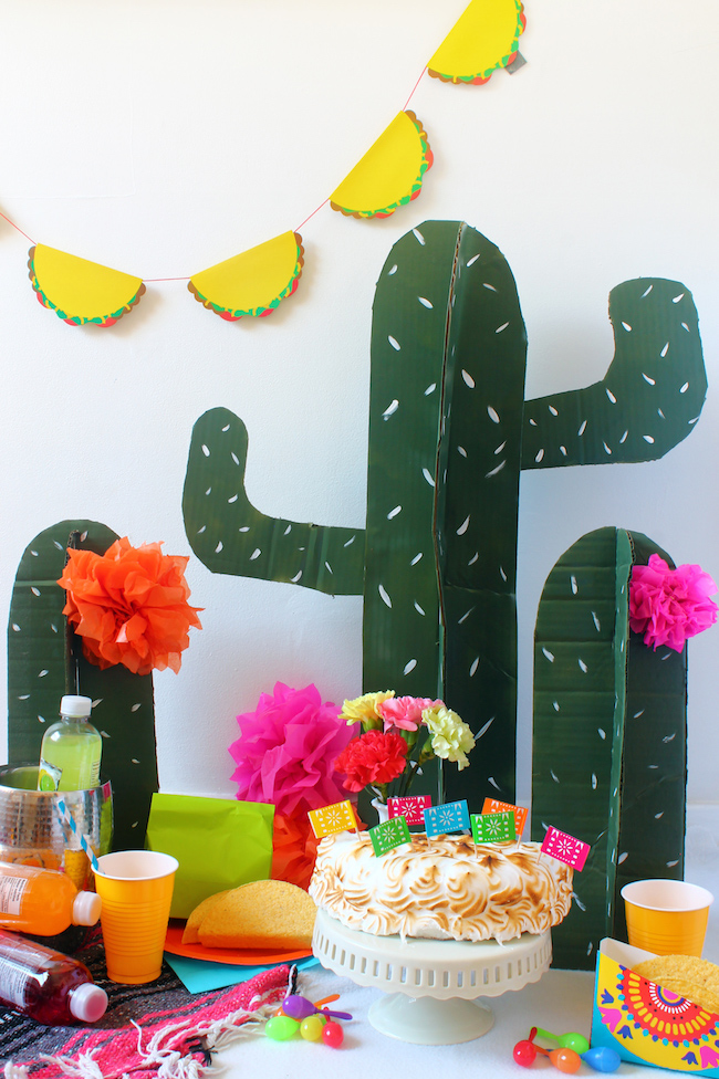 To do at home: birthday with simple decoration brings up Mexican culture