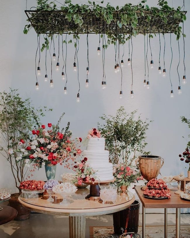 Surprise loved ones with lots of greenery and flowers