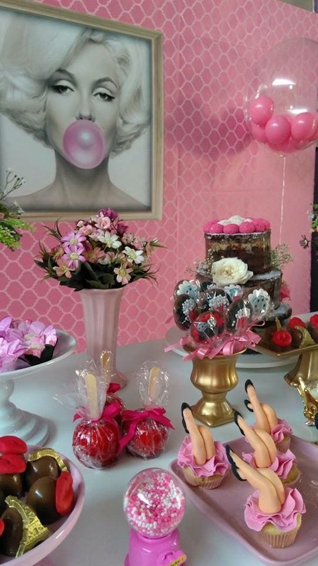 Pink Party theme is the face of the daring birthday girl