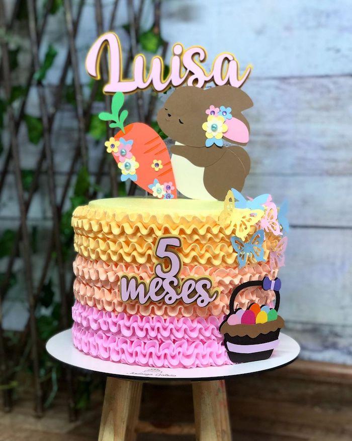 Easter Crossover Cake