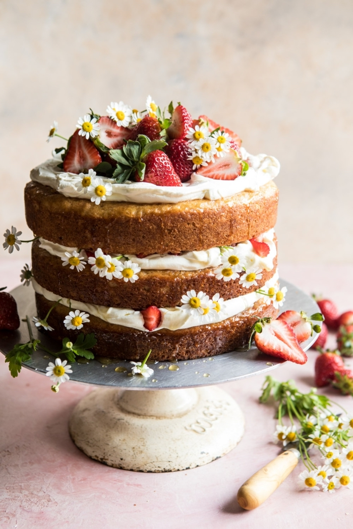 The strawberry cake is all about the holiday