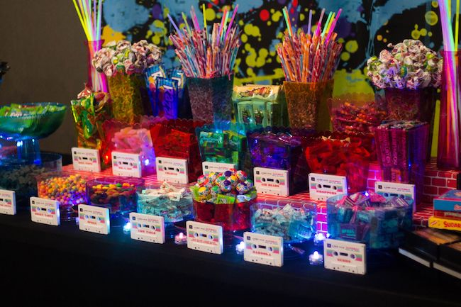 A buffet of '80s sweets