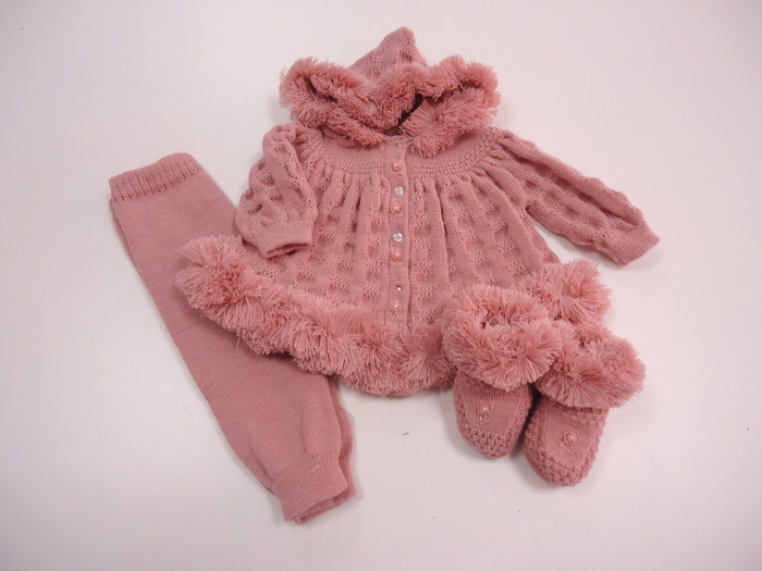 Pink set for the cold