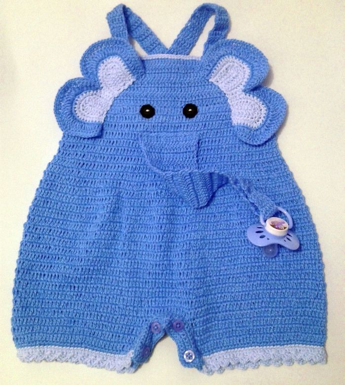 Baby outfit inspired by elephant