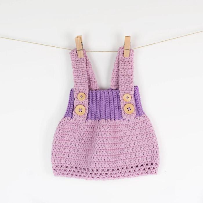 Baby clothes with thick straps