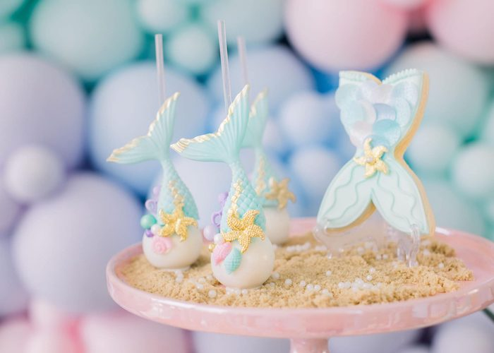 The sweets may have little mermaid syrups