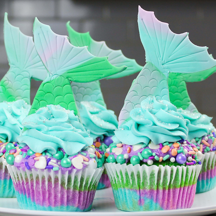 Cupcakes can also be very charming