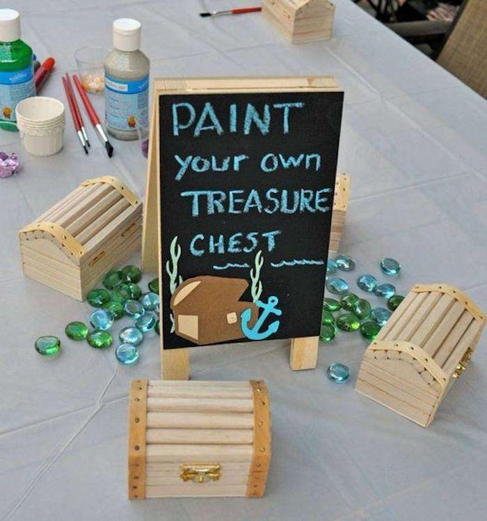 Handmade chests correspond to a souvenir option