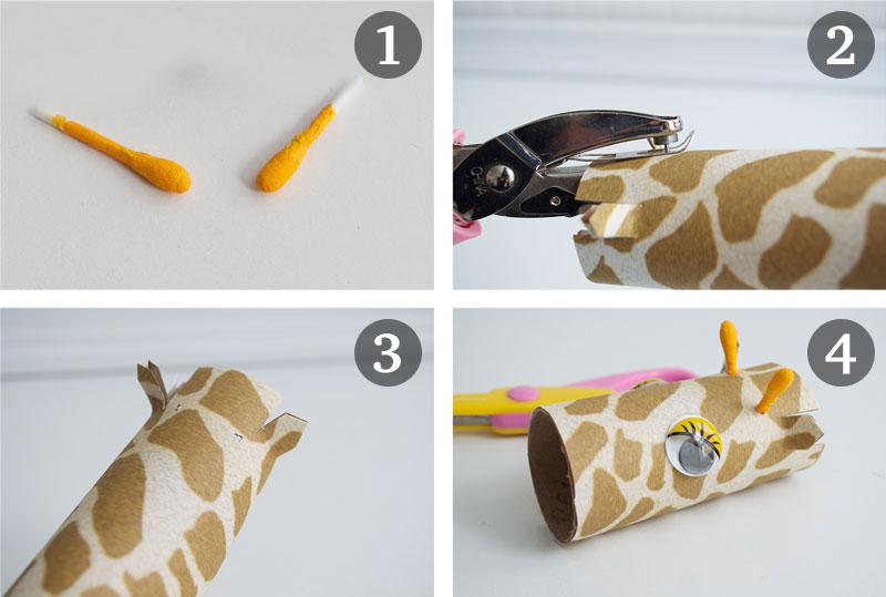 how-to-make-ornament-table-birthday-child-theme-zoological-safari-giraffe-cupcake-5