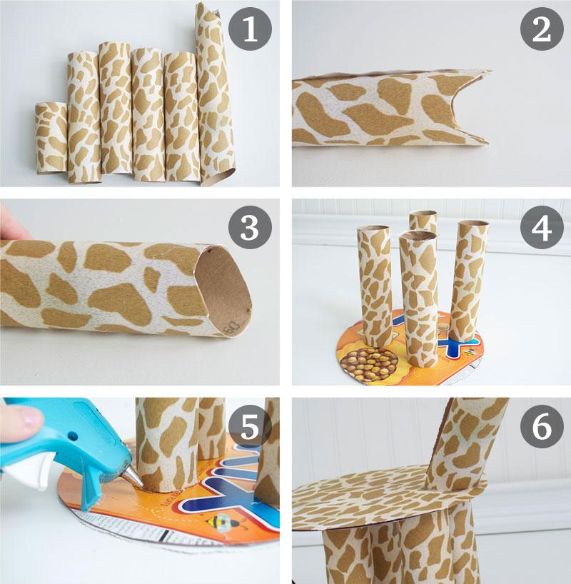 how-to-make-ornament-table-birthday-child-theme-zoological-safari-giraffe-cupcake-4