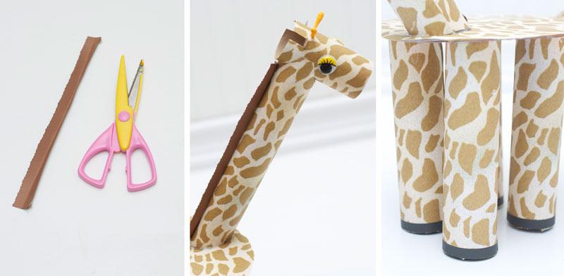 how-to-make-ornament-table-birthday-child-theme-zoological-safari-giraffe-cupcake-7