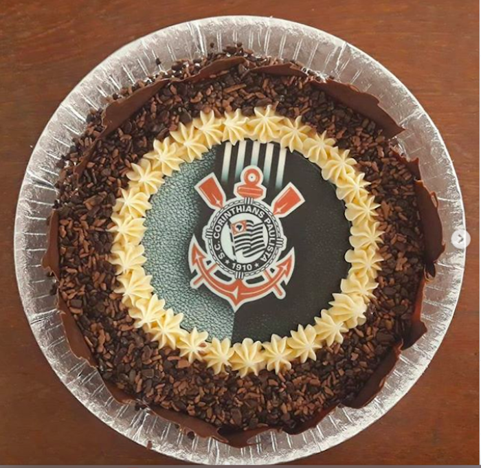 Themed and tasty, this cake has chocolate cones covering the sides