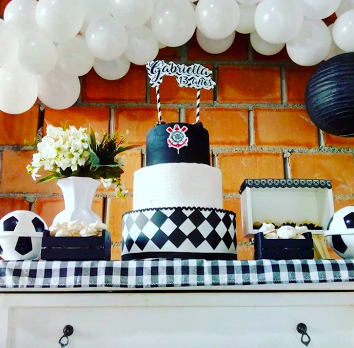 Corinthians themed girl birthday party