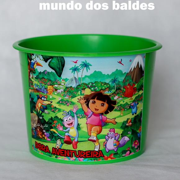 bucket-of-popcorn-dora-adventurer-bucket-dora-adventurer