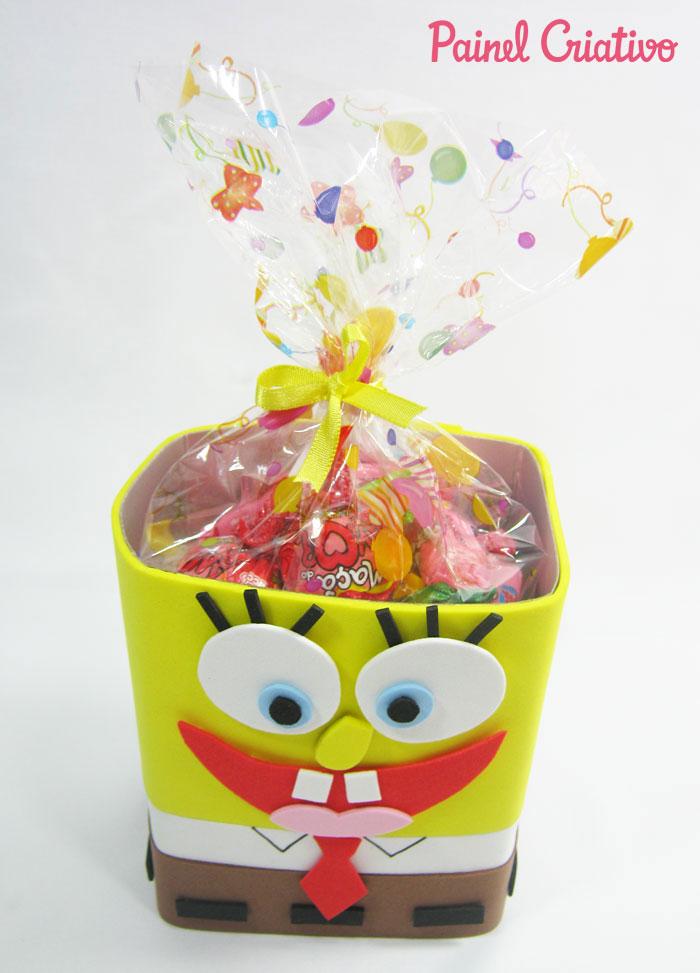how to make sponge bob souvenir eva birthday children's day (4)