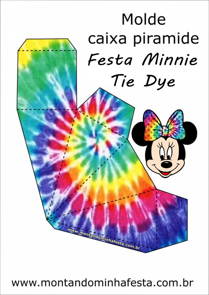 Minnie Tie Dye Party Kit