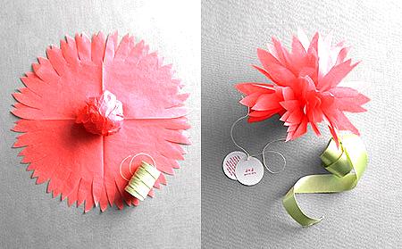 PAP tissue paper souvenir