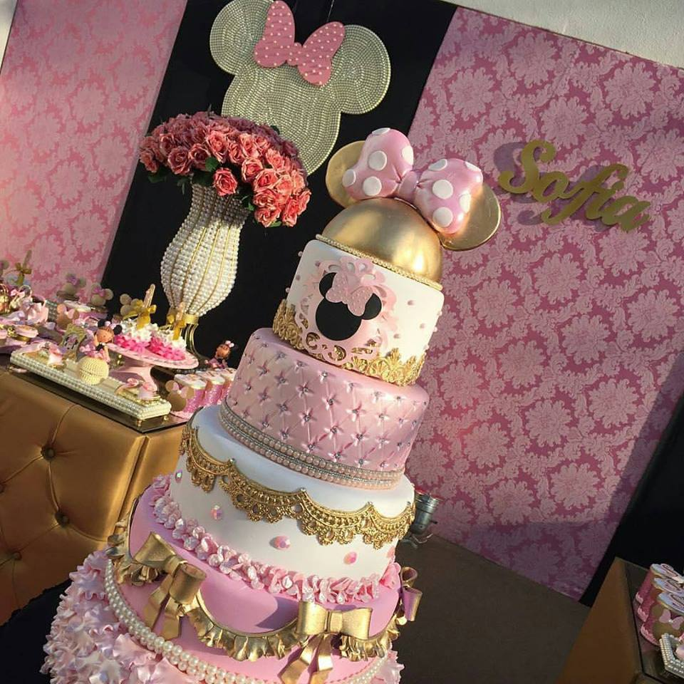 Minnie Pink Cake Inspire Your Party 2