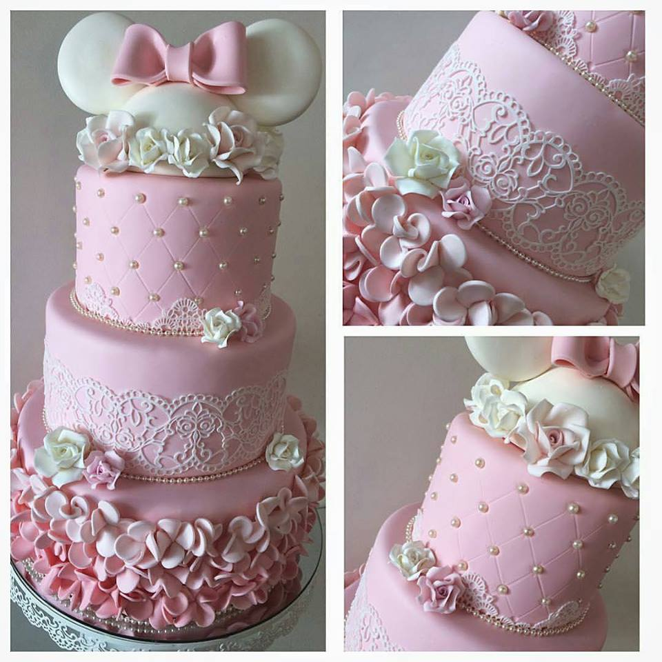 Minnie Pink Cake Inspire Your Party 4