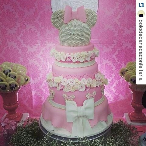 Minnie Pink Cake Inspire Your Party 13