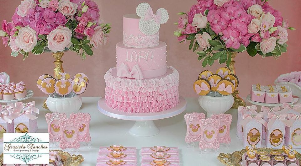 Minnie Pink Cake Inspire Your Party 9
