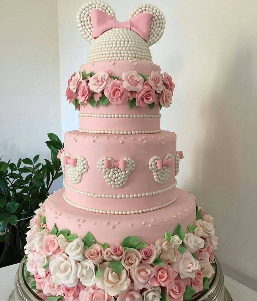 Minnie Pink Cake Inspire Your Party 10