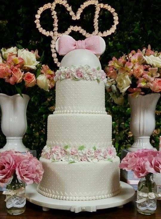 Minnie Pink Cake Inspire Your Party 7