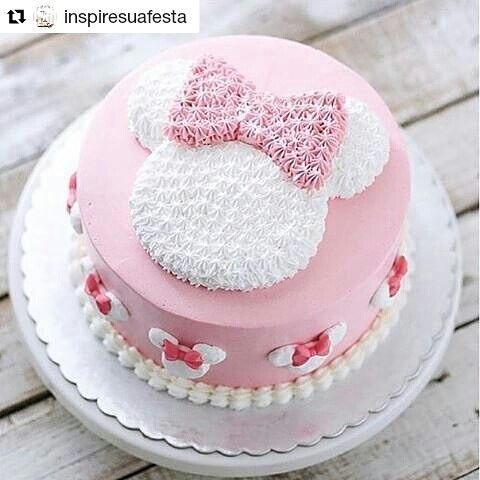 Minnie Pink Cake Inspire Your Party 11
