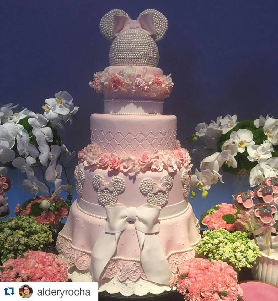 Minnie Pink Cake Inspire Your Party 12