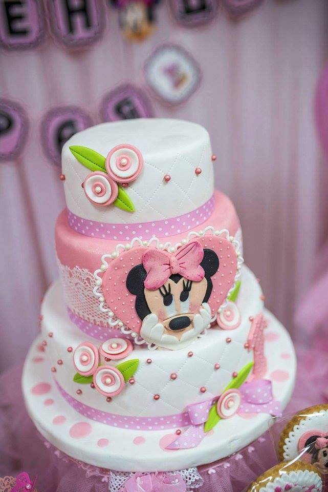 Minnie Pink Cake Inspire Your Party 8